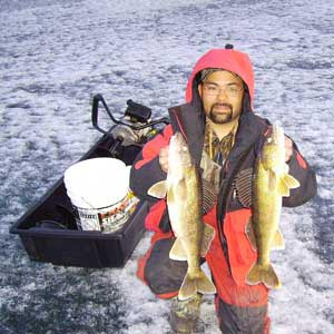 Mark Cassidy Cast-A-Way Charters Winter Fishing Photo Gallery