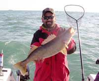 Captain Mark Cassidy of Cast-A-Way Charters in West Bend, WI